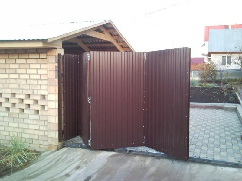 Складные ворота в Владимире